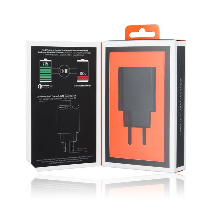 CESTOVNÍ DOBÍJEČ TFO PREMIUM 1 X USB 1 500mAh Qualcomm 3.0 Charger