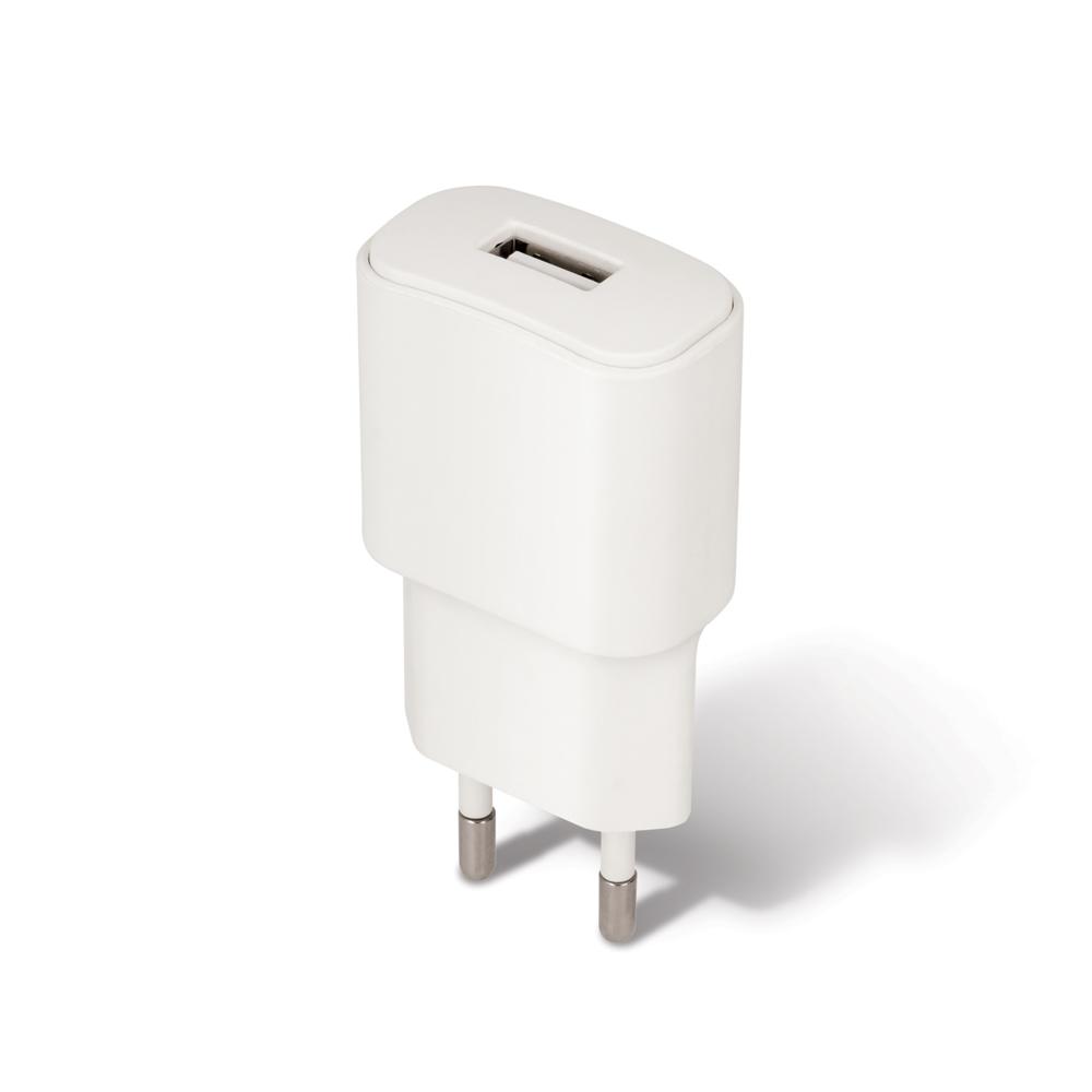 Cestovní dobíječ Forever USB 2A TC-01 s lightning kabelem bílý