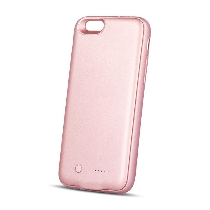 EXTERNÍ BATERIE 3000mAh TFO PRO APPLE IPHONE 6/6S + slot microSD - RŮŽOVÁ ZLATÁ