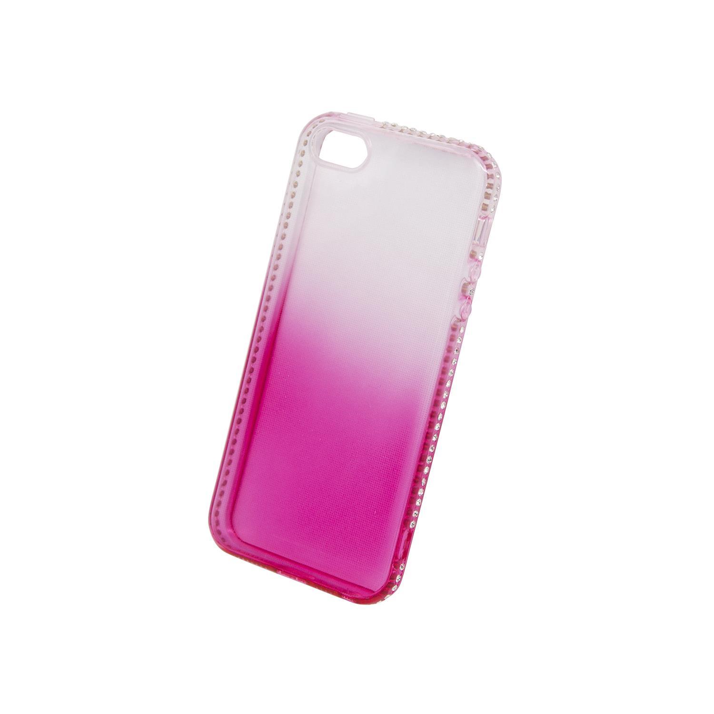 Zadní kryt Beeyo kolekce Diamond Frame pro Apple iPhone 5/5S/SE růžový