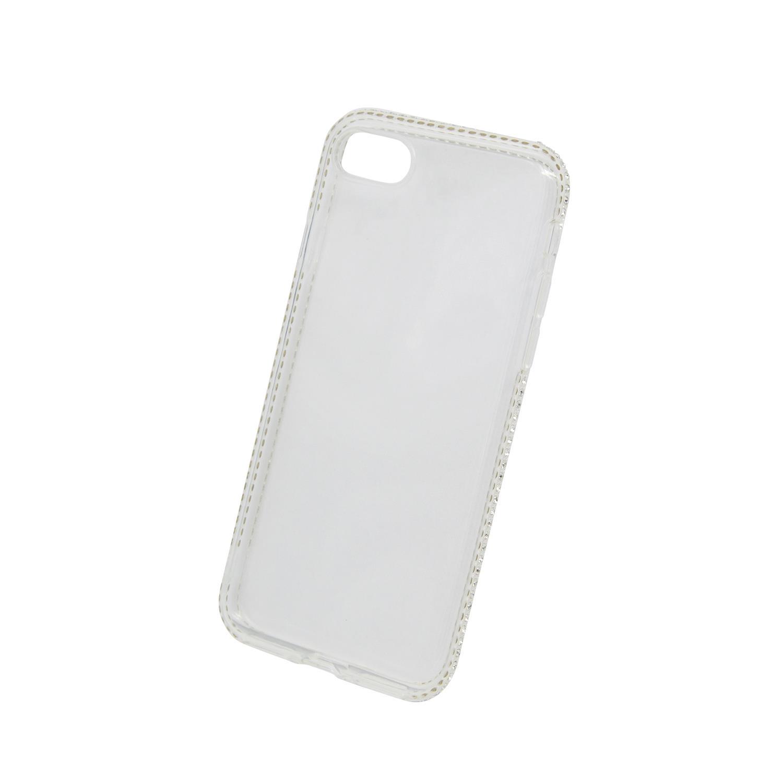 Zadní kryt Beeyo kolekce Diamond Frame pro Apple iPhone 7/8 transparentní