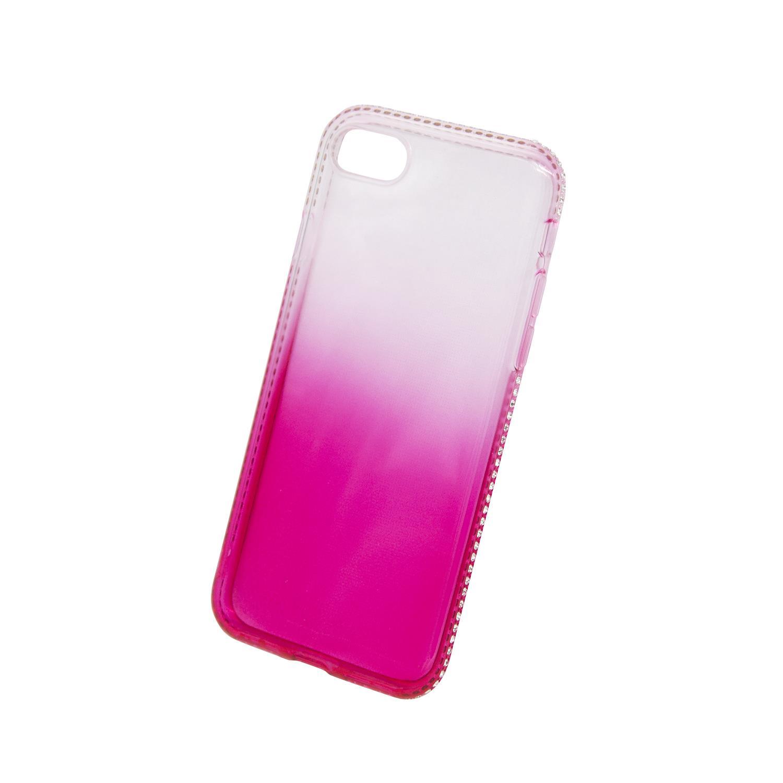 Zadní kryt Beeyo kolekce Diamond Frame pro Apple iPhone 7/8 růžový