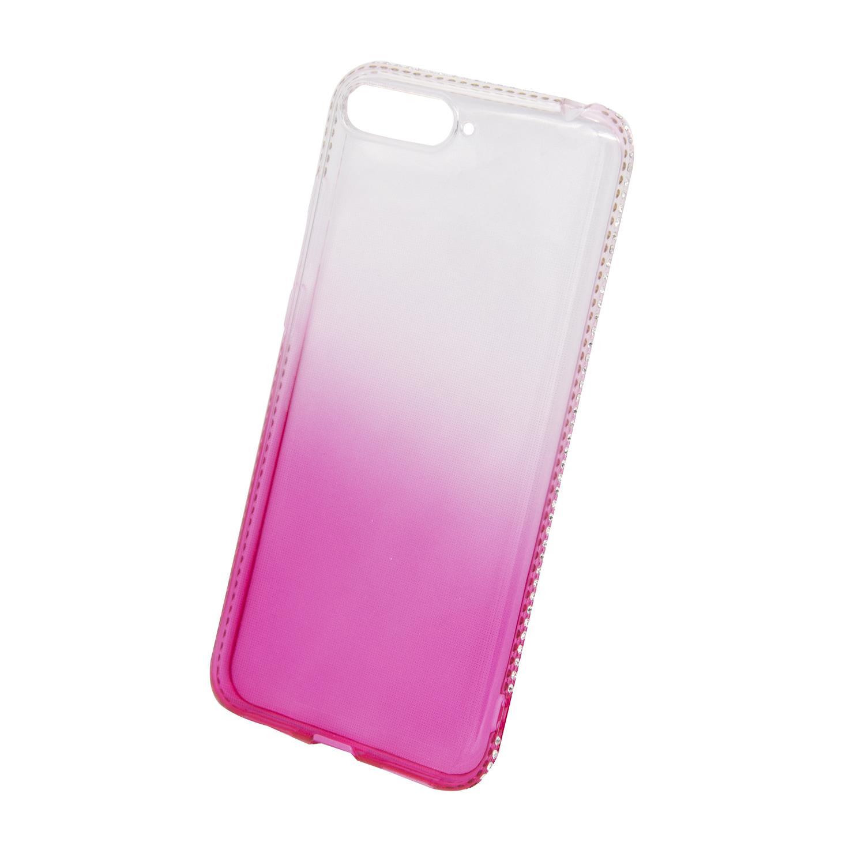 Zadní kryt Beeyo kolekce Diamond Frame pro Huawei Honor 7A růžový