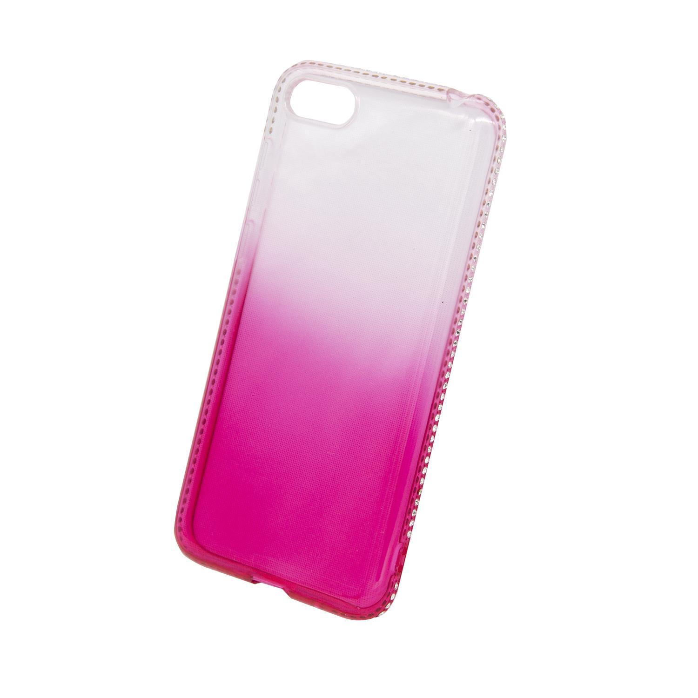 Zadní kryt Beeyo kolekce Diamond Frame pro Huawei Honor 7S růžový