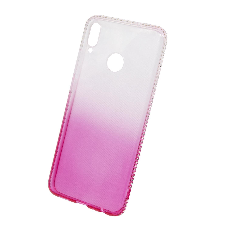 Zadní kryt Beeyo kolekce Diamond Frame pro Huawei Honor 8X růžový