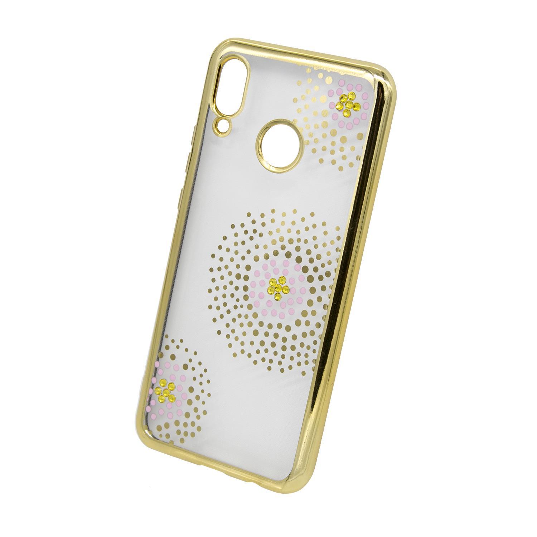 Zadní kryt Beeyo kolekce Flower Dots pro Huawei Honor 8X zlatý