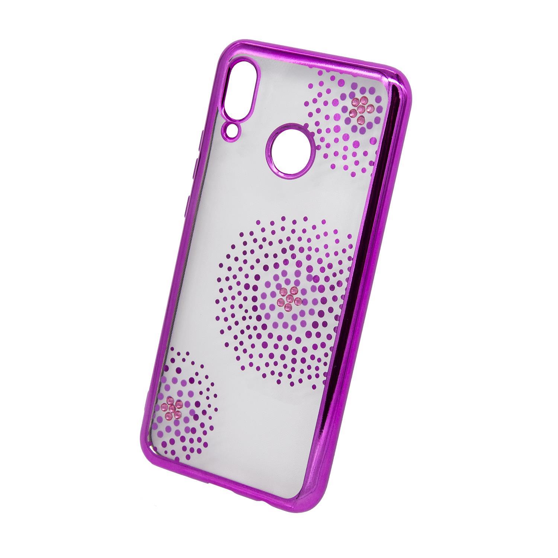 Zadní kryt Beeyo kolekce Flower Dots pro Huawei Honor 8X růžový