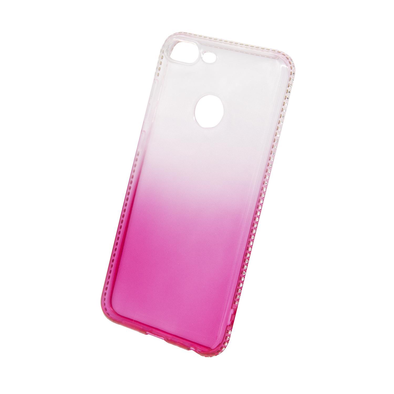 Zadní kryt Beeyo kolekce Diamond Frame pro Huawei Honor 9 Lite růžový