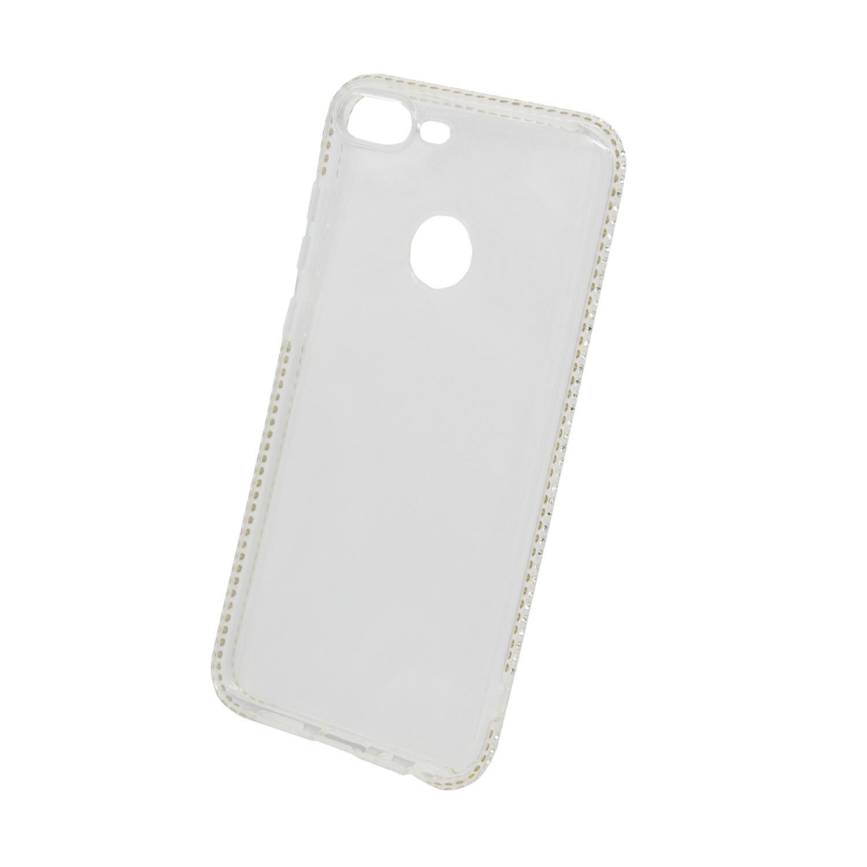 Zadní kryt Beeyo kolekce Diamond Frame pro Huawei Honor 9 Lite transparentní