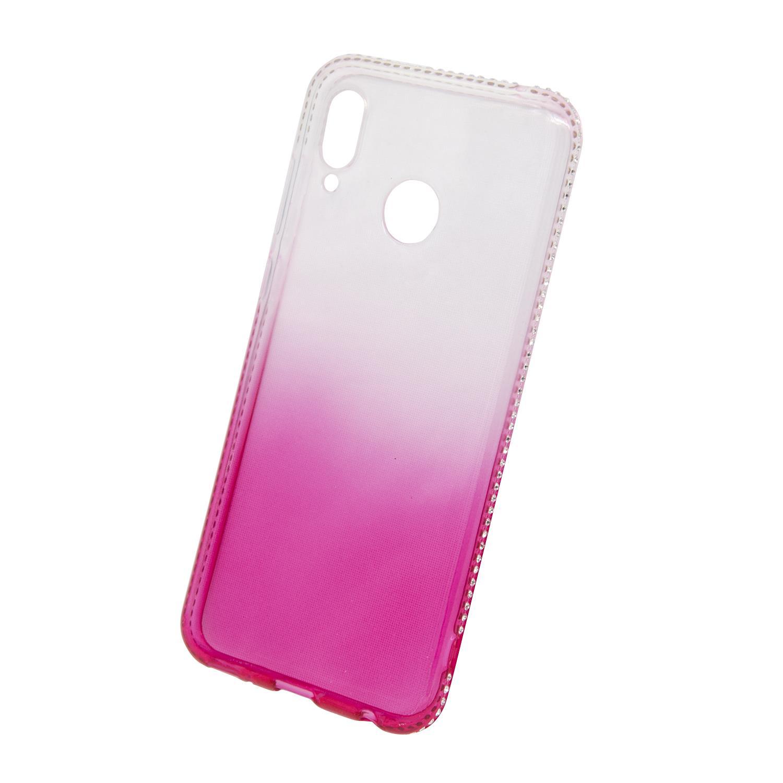 Zadní kryt Beeyo kolekce Diamond Frame pro Huawei Honor Play růžový
