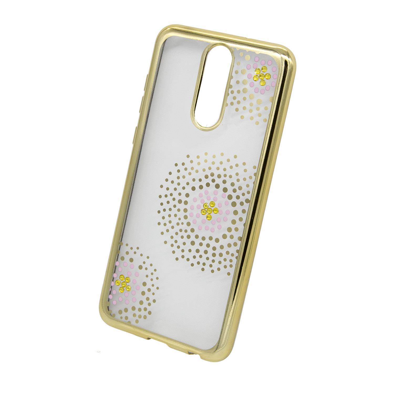 Zadní kryt Beeyo kolekce Flower Dots pro Huawei Mate 10 Lite zlatý