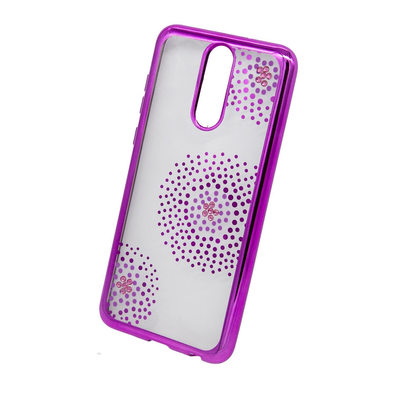 Zadní kryt Beeyo kolekce Flower Dots pro Huawei Mate 10 Lite růžový