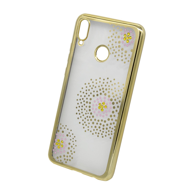 Zadní kryt Beeyo kolekce Flower Dots pro Huawei Nova 3 zlatý