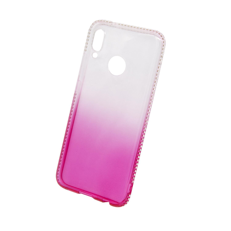 Zadní kryt Beeyo kolekce Diamond Frame pro Huawei P20 Lite růžový