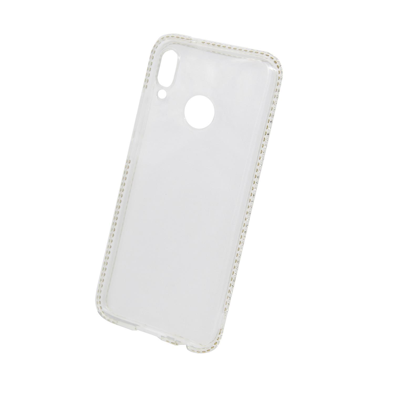 Zadní kryt Beeyo kolekce Diamond Frame pro Huawei P20 Lite transparentní