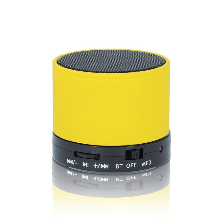 Reproduktor přenosný Bluetooth Forever BS-100 - žlutý