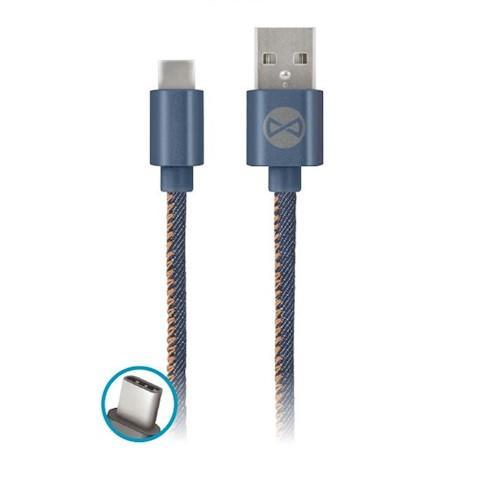 DATOVÝ KABEL TFO USB C-TYPE TFO - JEANS (TFO-N)