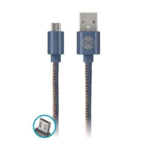 DATOVÝ KABEL TFO MICRO USB - JEANS (TFO-N)