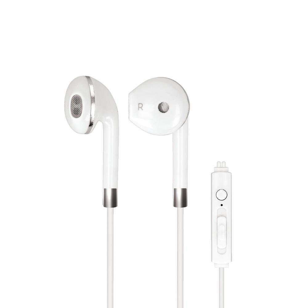 Stereo sluchátka s mikrofonem Forever SE-410 3.5 mm jack bílá