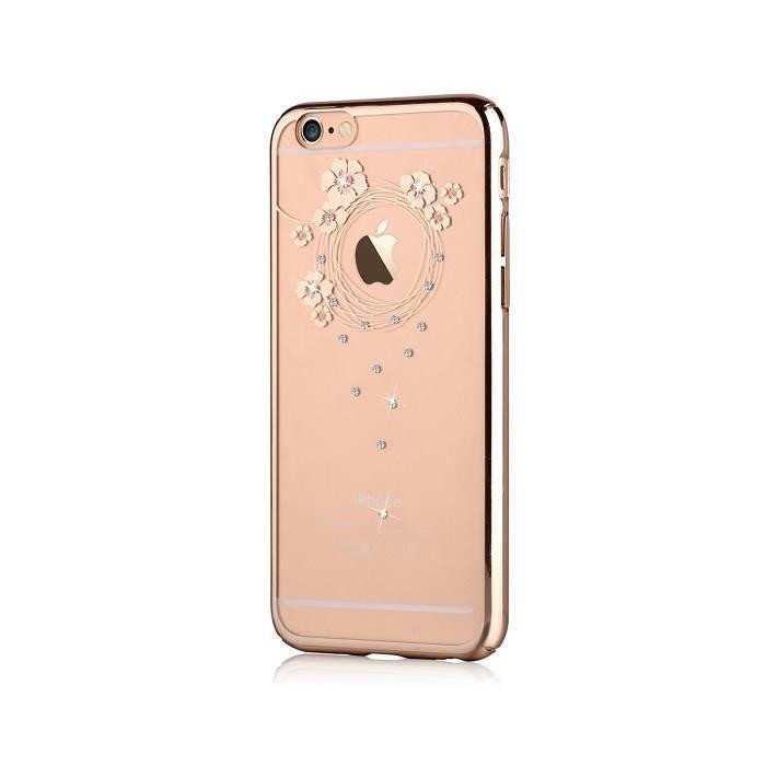OCHRANNÝ KRYT (TPU) DEVIA PRO APPLE IPHONE 6/6S - GARLAND CHAMPAGNE GOLD