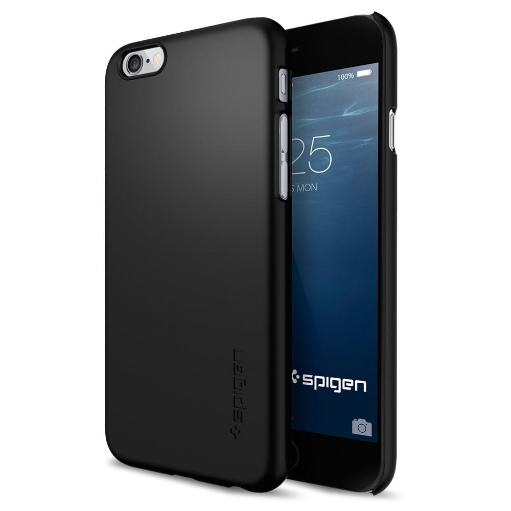 "Ochranný kryt Spigen Thin Fit pro Apple iPhone 6/6S 4,7"" černý"