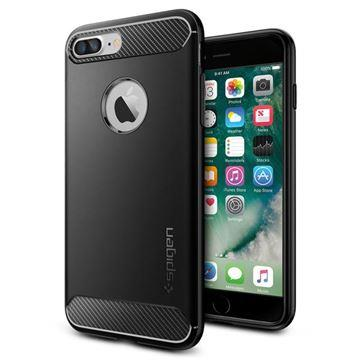 OCHRANNÝ KRYT (TPU) SPIGEN Rugged Armor PRO APPLE IPHONE 7/8 PLUS - BLACK