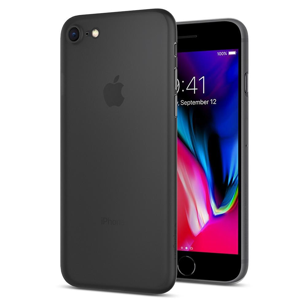 Ochranný kryt Spigen Air Skin pro Apple iPhone 8 černý