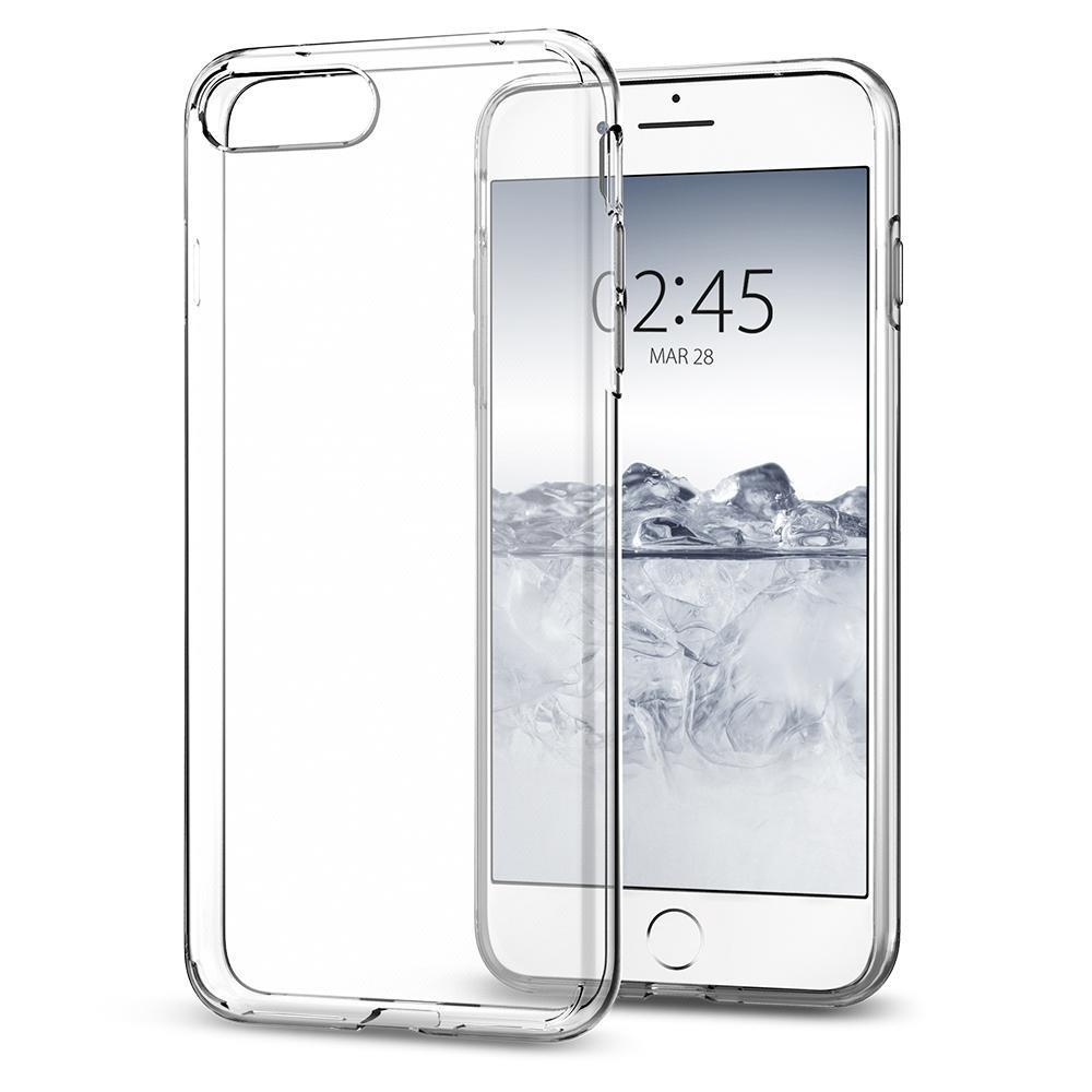 Ochranný kryt Spigen Liquid Crystal pro Apple iPhone 8/7 plus transparentní