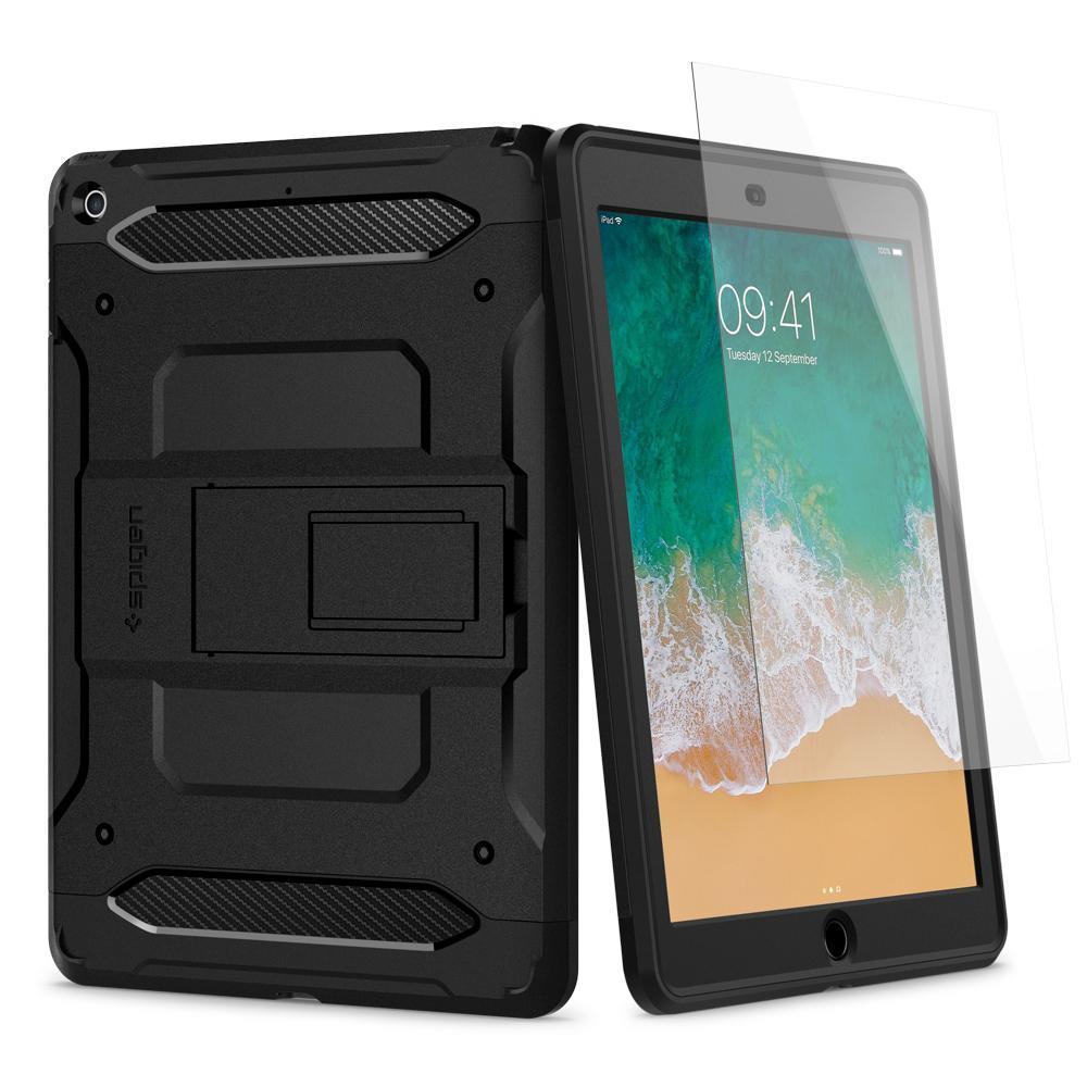 "Ochranný kryt Spigen Pro Guard pro Apple iPad 9,7"" černý"