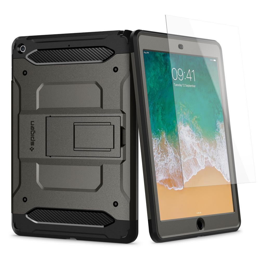 "Ochranný kryt Spigen Pro Guard pro Apple iPad 9,7"" metalický"