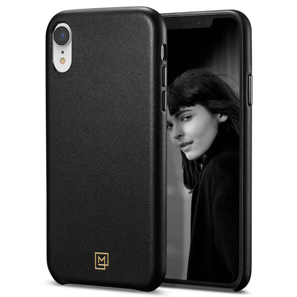 Ochranný kryt Spigen La Manon Calin pro Apple iPhone XR černý