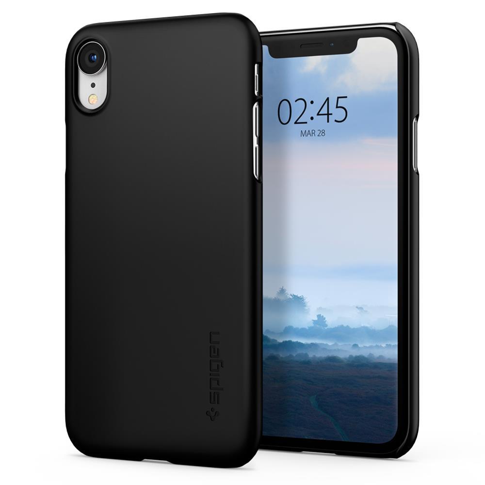 Ochranný kryt Spigen Thin Fit pro Apple iPhone XR černý