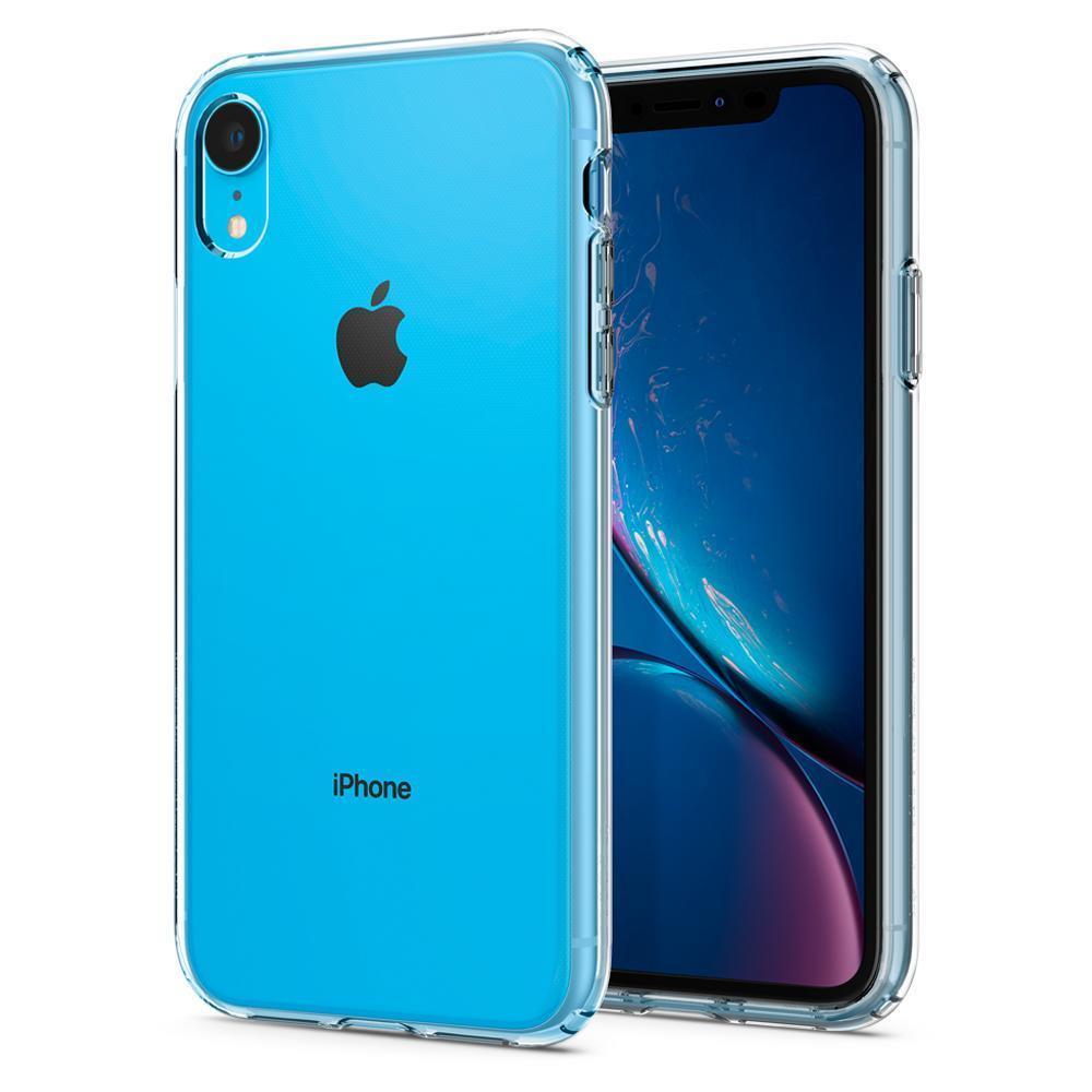 Ochranný kryt Spigen Crystal Flex pro Apple iPhone XR transparentní