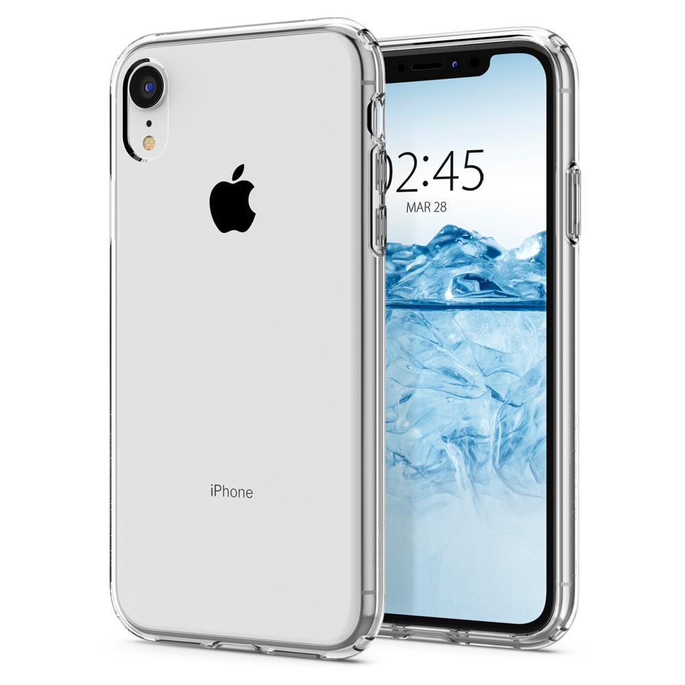 Ochranný kryt Spigen Liquid Crystal pro Apple iPhone XR transparentní