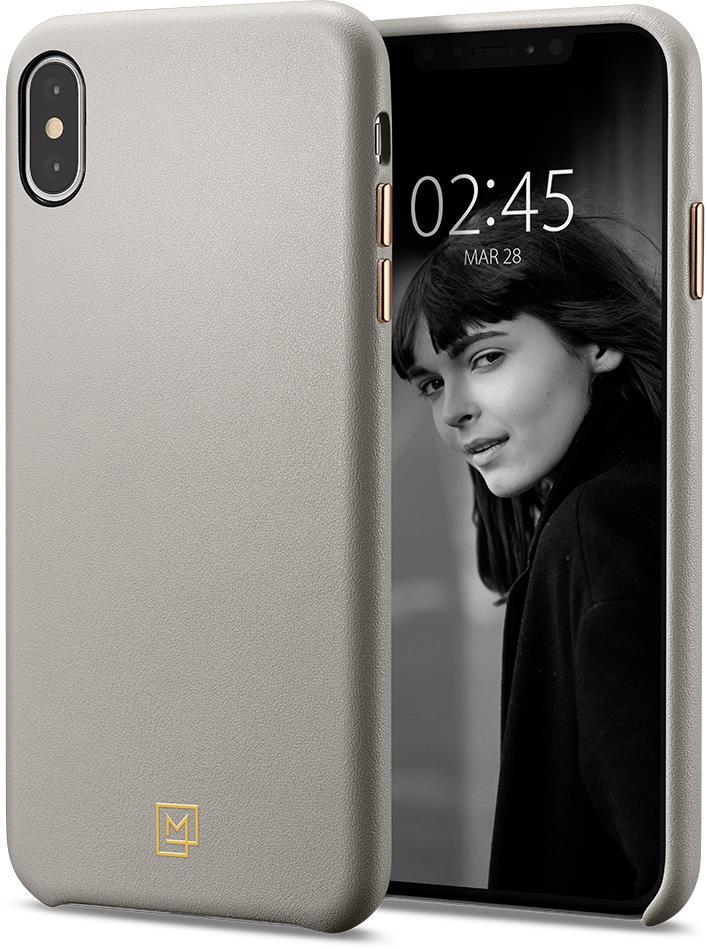 Ochranný kryt Spigen La Manon Calin pro Apple iPhone XS Max béžový