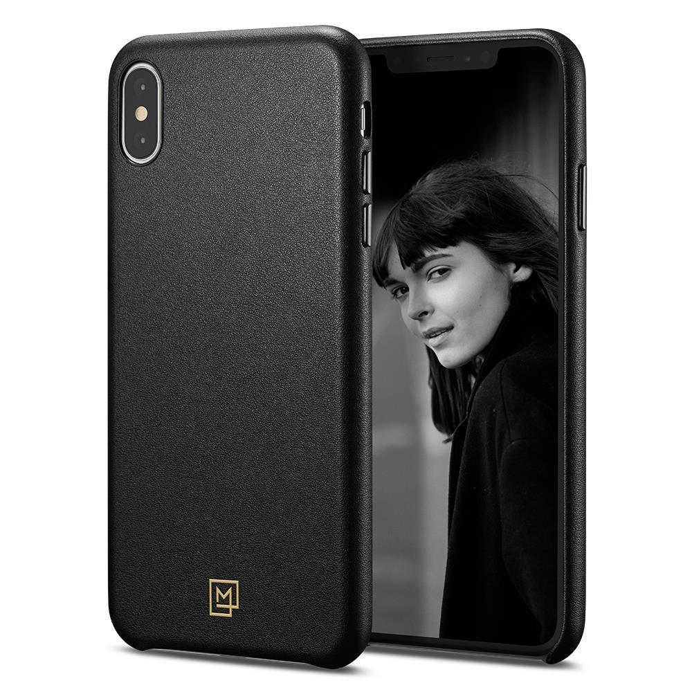 Ochranný kryt Spigen La Manon Calin pro Apple iPhone XS Max černý