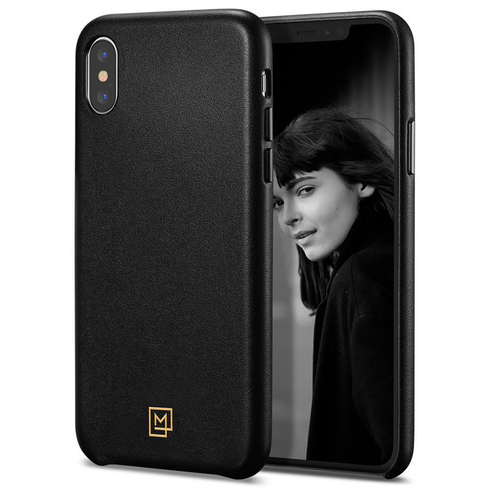 Ochranný kryt Spigen La Manon Calin pro Apple iPhone XS/X černý