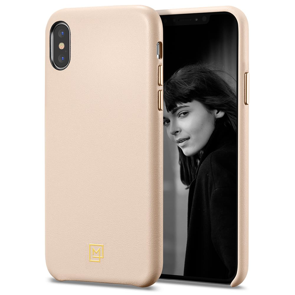 Ochranný kryt Spigen La Manon Calin pro Apple iPhone XS/X růžový