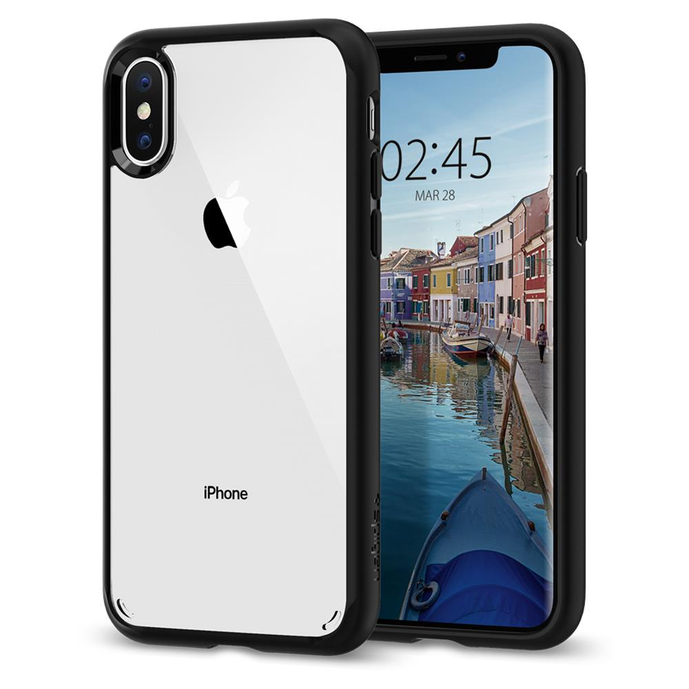 Ochranný kryt Spigen Ultra Hybrid pro Apple iPhone XS/X matně černý