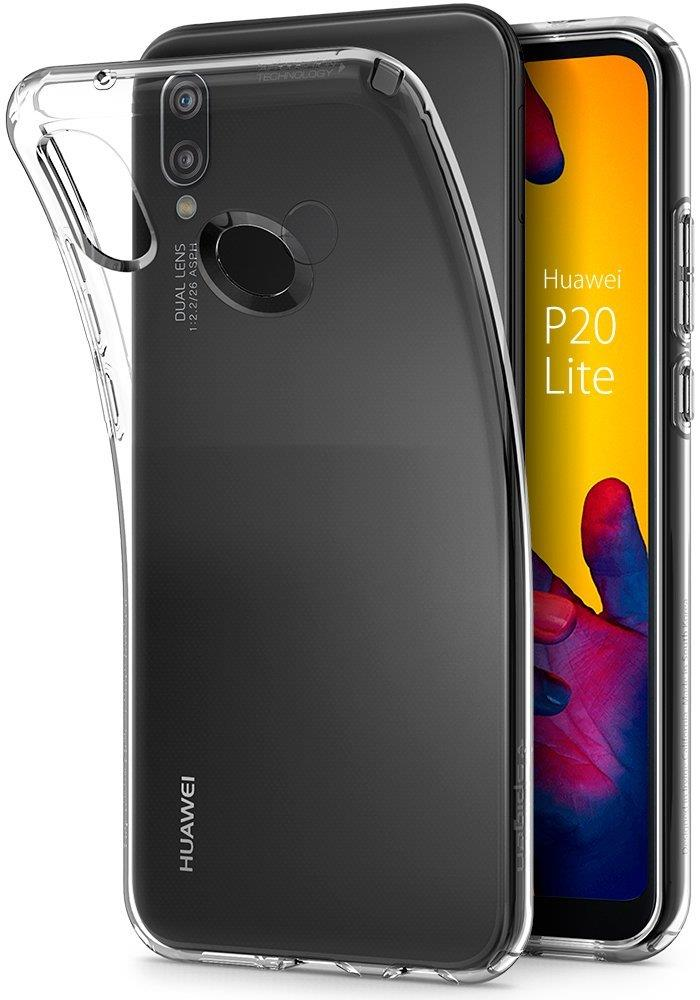 Ochranný kryt Spigen Liquid Crystal pro Huawei P20 Lite transparentní
