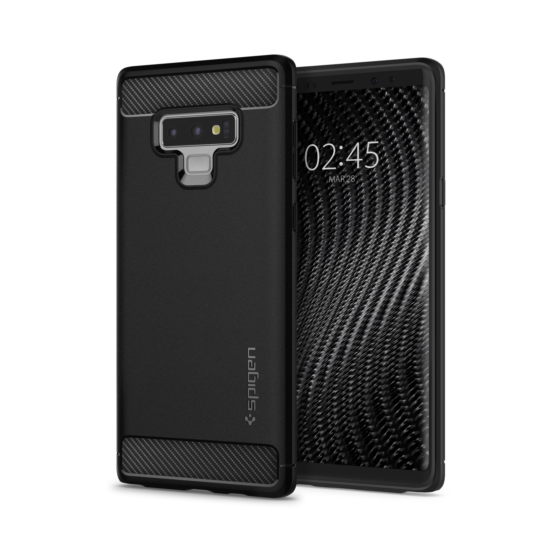 Ochranný kryt Spigen Rugged Armor pro Samsung Galaxy Note 9 černý