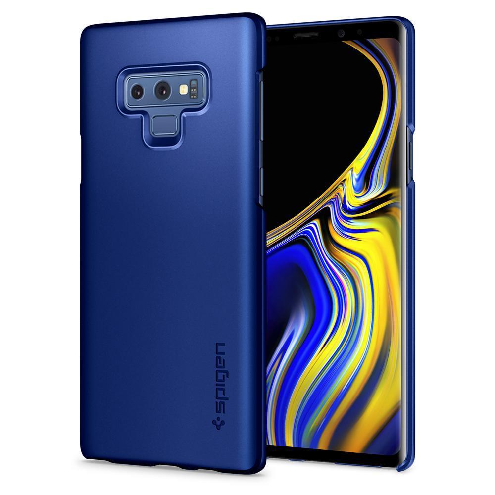 Ochranný kryt Spigen Thin Fit pro Samsung Galaxy Note 9 modrý