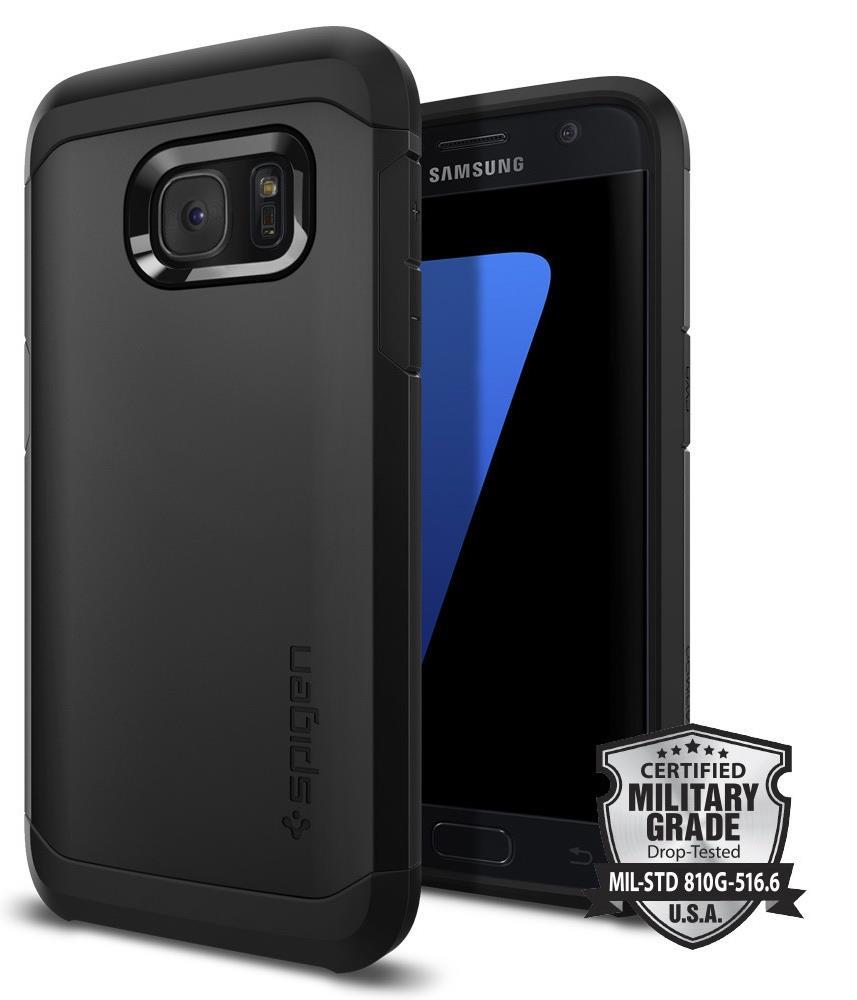 Ochranný kryt Spigen Tough Armor pro Samsung Galaxy S7 černý
