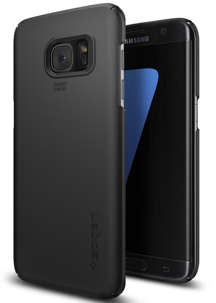 Ochranný kryt Spigen Thin Fit pro Samsung Galaxy S7 Edge černý
