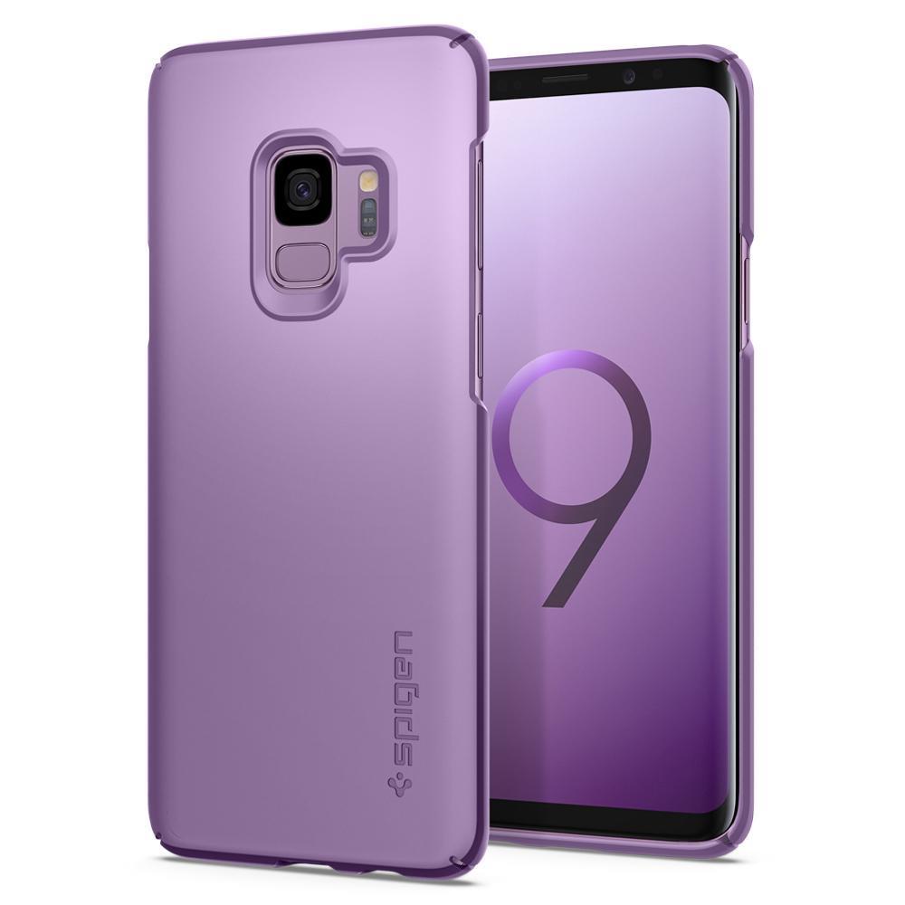 Ochranný kryt Spigen Thin Fit pro Samsung Galaxy S9 fialový