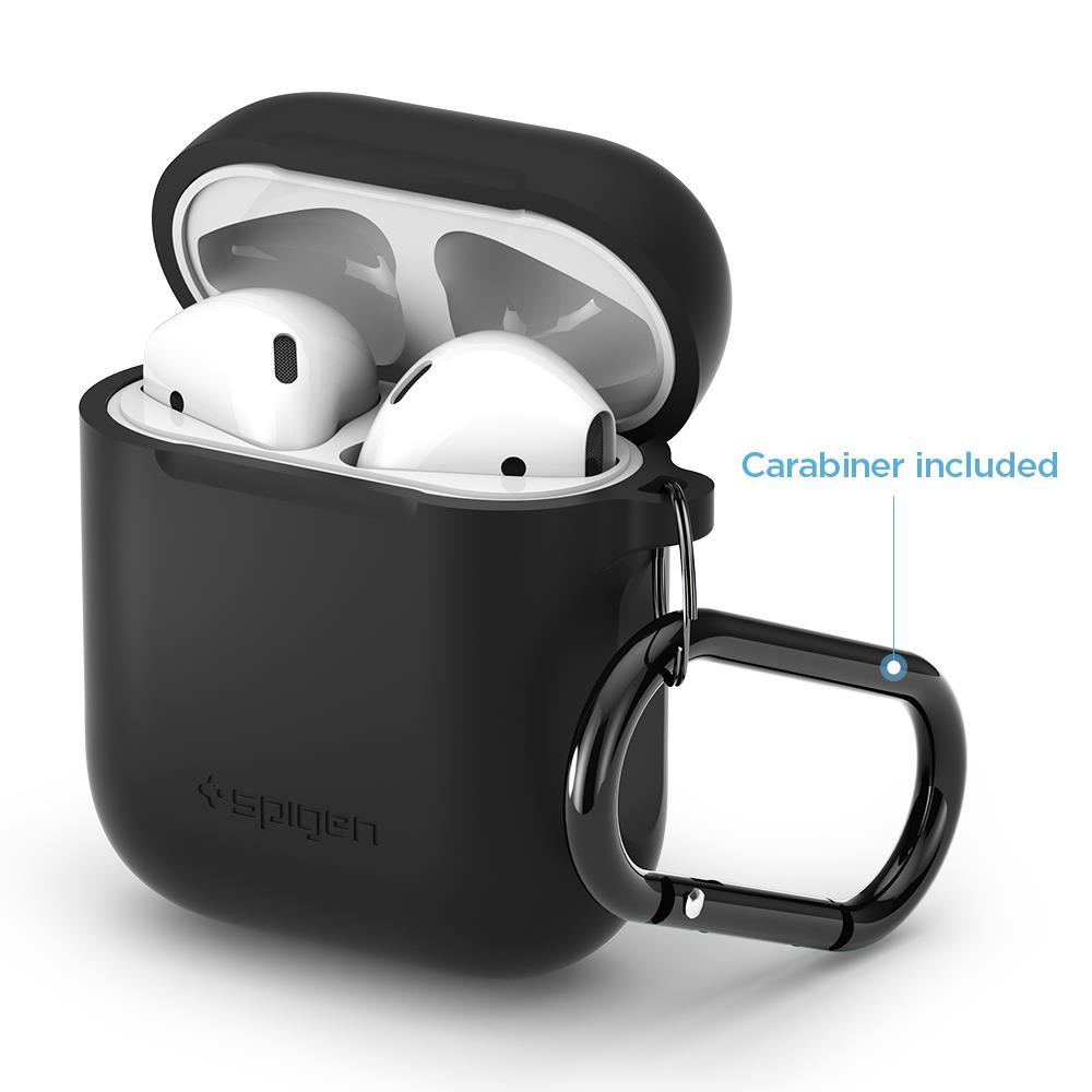 Ochranné pouzdro Spigen AirPods Case černé