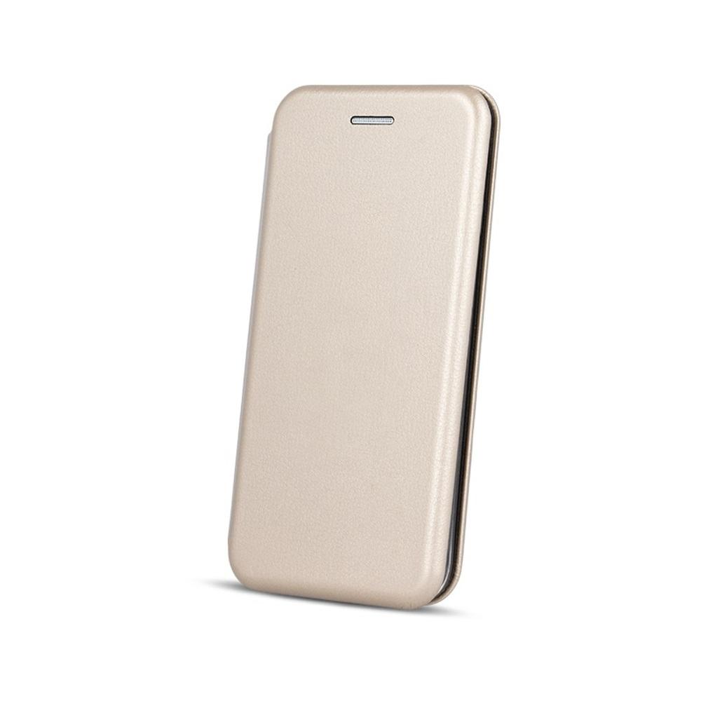 Knížkové pouzdro ( Smart Diva ) pro Samsung Galaxy J4 Plus zlaté
