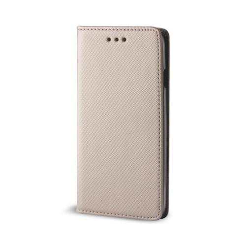 Knížkové pouzdro Smart Magnet pro Huawei P Smart - Gold