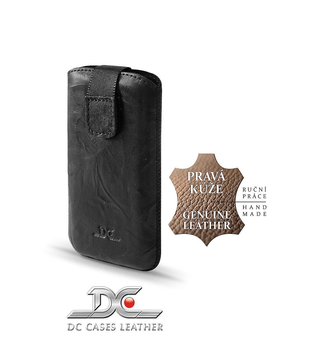 DC (TOP) POUZDRO L T26 Protect Washed ČERNÉ (N97, IPHONE 4G, HTC DESIRE ..)