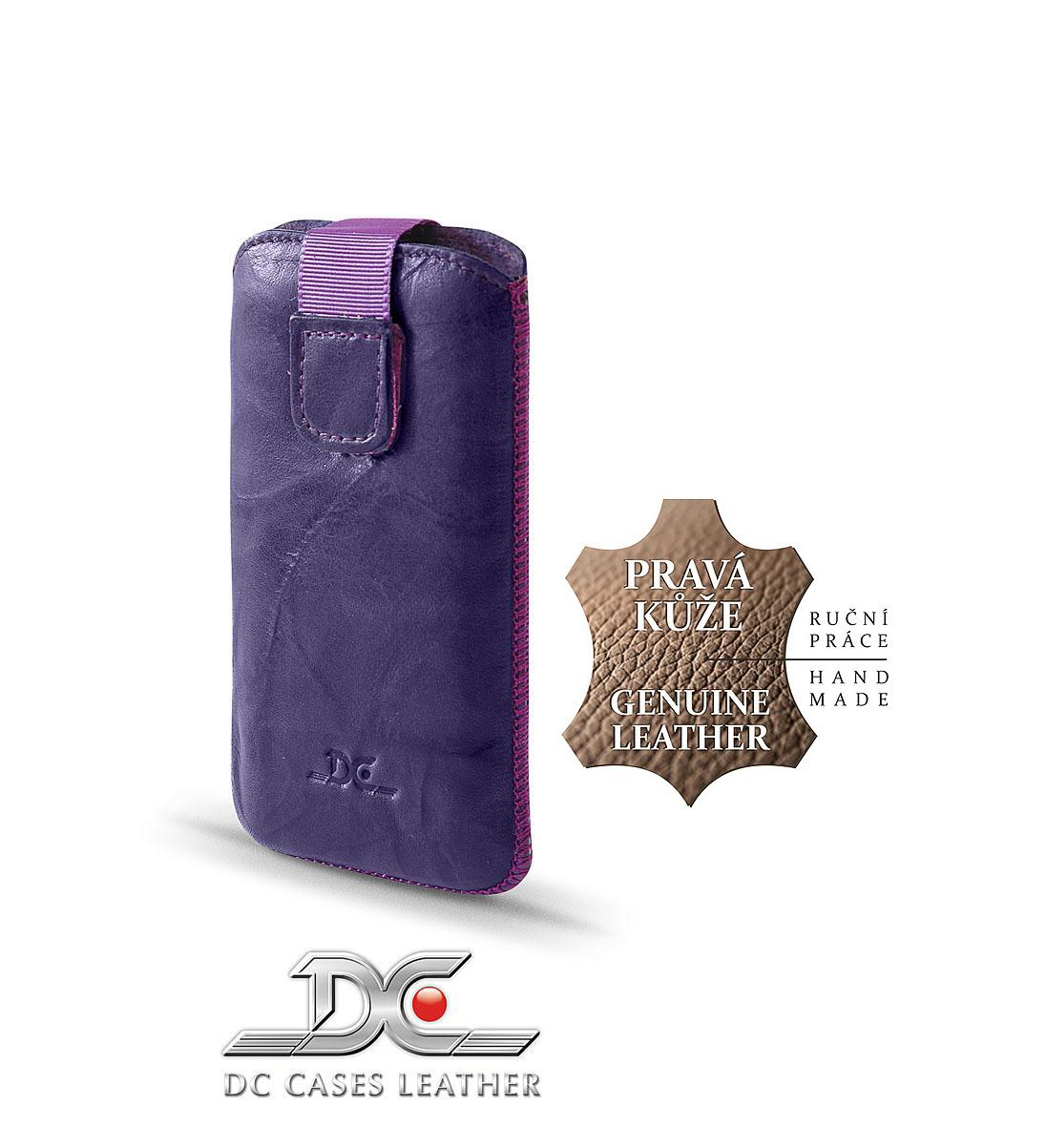 DC (TOP) POUZDRO L T28 Protect Washed FIALOVÉ (N97, IPHONE 4G, HTC DESIRE ..)